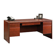 Cornerstone Executive Desk with Laptop Drawer, OFG-DS0008