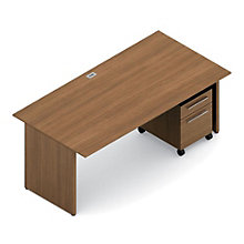 Princeton Executive Desk and Pedestal Set, OFG-DS0050