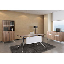 Modern Writing Desk with Storage Set, OFG-EX0039
