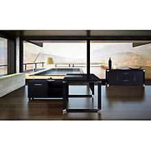 Modern Executive Desk with Storage Set, OFG-EX0042
