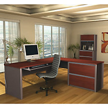 Connexion Reversible L-Desk Office Set, OFG-EX0094