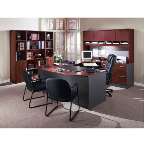Hansen Cherry And Graphite Total Office