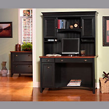 Antique Black and Hansen Cherry Home Office Suite, OFG-EX1039