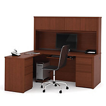 Prestige Plus Reversible L-Desk with Hutch, OFG-LD0011
