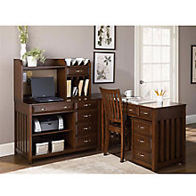 Hampton Bay Cherry L-Desk Set, OFG-LD0088