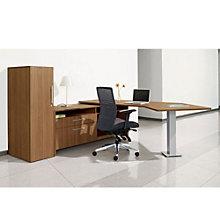 Princeton L-Desk with Storage Set, OFG-LD0106