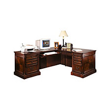 Mount View Traditional Left Return L-Desk, OFG-LD1031