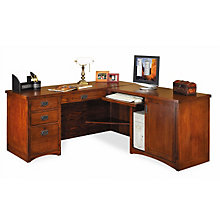 mission style office furniture shop craftsman computer