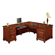 Antigua Executive L-Desk with Left Return, OFG-LD1177