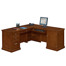 Compact L-Shaped Desk with Right Return, OFG-LD1214