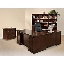 Fulton Espresso L-Desk with Left Return Office Group, OFG-LD1228