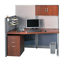 Workstation with Panels and Storage, OFG-MS2601