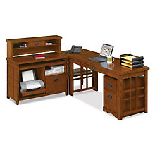 Mission Pasadena L-Desk Set, OFG-MS2606