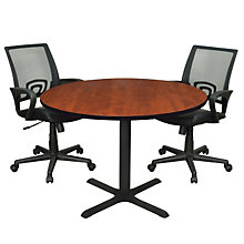Sandia Round Conference Table and Chairs Set, OFG-TS0004