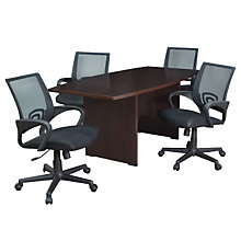 Sandia 6' Conference Table and 4 Chairs, OFG-TS0005