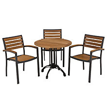 Teak Outdoor Table and Chairs Set, OFG-TS0008