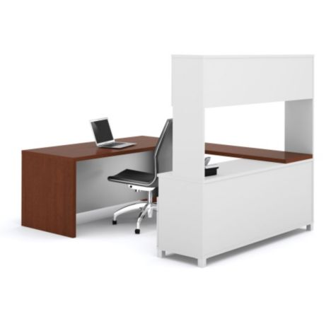 Pro Linea U Desk With Hutch OFG UD0062 And Other Browse All Office Furniture