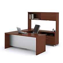 Pro Linea U-Desk with Hutch, OFG-UD0062