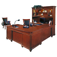 Antigua Left U Shaped Desk Suite, OFG-UD1035