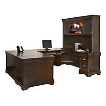 Beaumont Right Return U-Desk with Hutch, OFG-UD1095