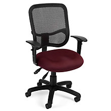 Fabric and Mesh Ergonomic Task Chair, OFM-130-AA