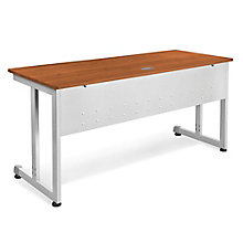 "RiZe Modular Computer Desk with Modesty Panel - 60""W x 24""D, 8805287"
