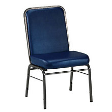 Vinyl Stack Chair, OFM-300-SV-VAM