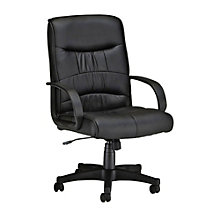 LX Faux Leather Mid Back Chair, OFM-508-LX
