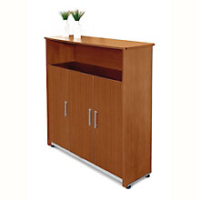 "Venice Three Door Storage Cabinet - 55""W, OFM-55116"