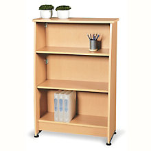 "Milano Three Shelf Bookcase - 49""H, OFM-55125"