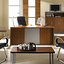 Venice Contemporary Executive L-Desk Office Suite, OFG-EX1161
