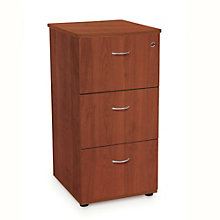 "Milano Three Drawer File with Lock - 20""W, OFM-55505"