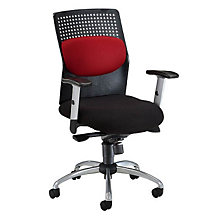 High Back Plastic and Fabric Ergonomic Executive Chair, OFM-651