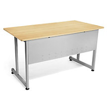 "Chiantello Desk with Modesty Panel - 48""W x 30""D, 8802006"