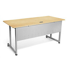 "Chiantello Desk with Modesty Panel - 72""W x 30D, 8802008"