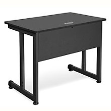 "Modular Computer Desk with Modesty Panel - 36""W x 24""D, 8802096"