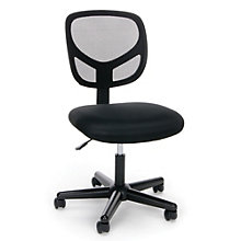 Essentials Simple Armless Mesh Back Task Chair, 8806868