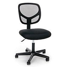Essentials Simple Armless Mesh Back Task Chair, 8806868