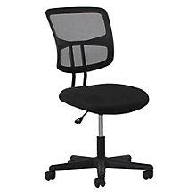 Essentials Armless Mesh Fabric Seat Task Chair, 8806869