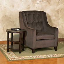 Curves Tufted Arm Chair, OFF-CVS51