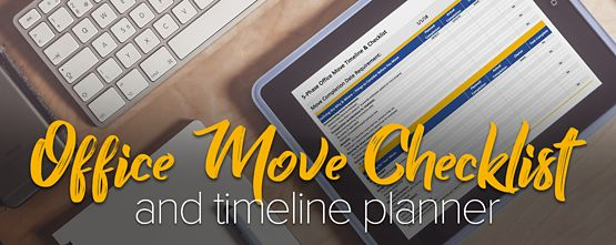 Office Move Project Plan Excel Download