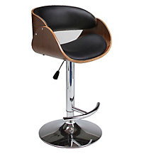 Kaffina Wood Back Modern Cafe Stool, PAE-10798