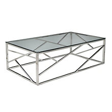 Fuerza Glass Top Coffee Table, PAE-10836