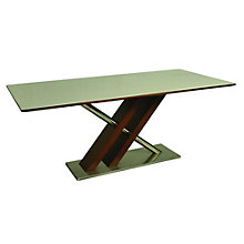Charlize Modern Glass Top Conference Table, PAE-10838
