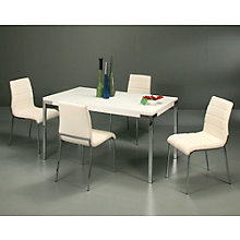 Fort James Glass Top Conference Table and Chair Set, PAE-10840