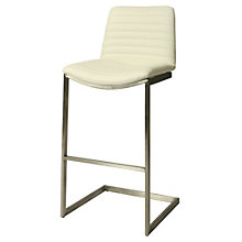 Buxton Bar Height Stationary Stool in Vinyl, 8802181