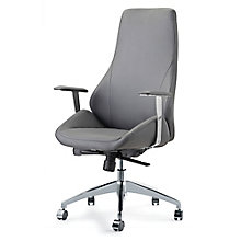 Canjun High Back Office Chair in Faux Leather, 8803247