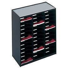 Literature Organizer - 36 Compartments, PAF-10437