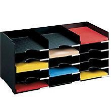 "Horizontal Desktop Organizer - 26.5"" W, PAF-10441"