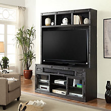 "Hudson Media Console with Hutch - 63""W, 8805002"